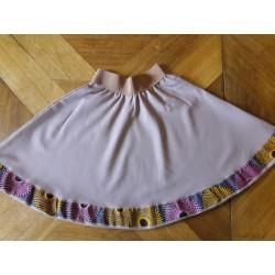 Dívčí sukně starorůžová